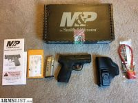 For Sale/Trade: LNIB S&W M&P Shield with holster etc.