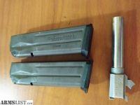 For Sale/Trade: Chrome 9mm Sig 229 efk barrel