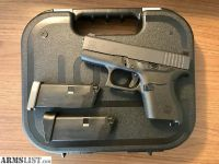 For Sale: Glock 43 with Trijicon HD night sights
