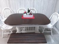 Farmhouse Style Table Cross Posted on several Sites