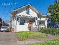 PREMIERE beautifully remodeled 10 bed/3 bath/2 kitchen home on E. 13th and Ferry Alley - preleasing for summer!