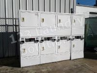 Fair Condition Double Stack Dryer Speed Queen Model Number: SSG509WF (White) Used
