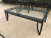 Glass Top Coffee Table w 2 End Tables