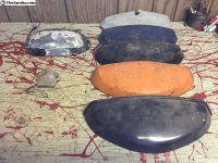 Original 1964-79 Type 1 Beetle Tag Light Hoods