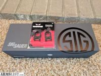For Sale: Sig Whiskey3 3-9x40 with Hellfire reticle and Warne Rings