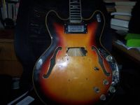 VOX Cheetah Electric hollowbody project guitar