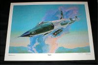 "Aviation Art Print - ""THUD"" - Signed & Numbered by Hal McCormick"