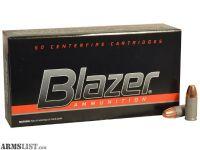 For Sale: Blazer 9mm 115 grain