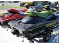 2004 & 2007 Seadoo RXP with Trailer Jet Ski