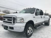 2007 Ford Super Duty F-350 DRW LARIAT DUALLY DIESEL 4X4 CREW CAB CLEAN w/ONLY 154