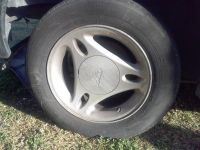 oem mustang 15 rims and tires