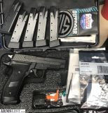 For Sale: Sig P226 tac ops like new with extras