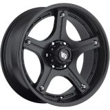 Sell 18x9 Matte Black LRG 106 6x5.5 +0 Rims Federal Couragia MT LT35X12.5R18 Tires motorcycle in Saint Charles, Illinois, United States, for US $1,675.22