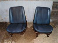 Parts For Sale: 66-67-68 GM A BODY BUCKET SEATS CHEVELLE SS GTO 442 BUICK GS EL CAMINO NOVA
