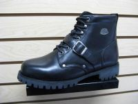 Purchase Teknic Sturgis Street Bike Motorcycle Riding Boots Black Size 10 motorcycle in Lehi, Utah, US, for US $59.99