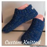 Custom Knitted Scarves, hats, and house Slippers