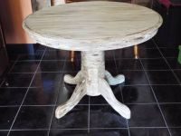 Table*Distressed*Chalk Painted*Vintage*All Wood*Heavy Duty