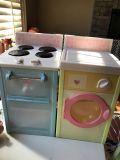 Rose cottage stove and washer/dryer