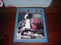 *** 2006 Super Bowl XL Game Day Program ~~~ NEW ~~~ SEAHAWKS vs Steelers ***