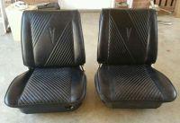 Purchase 64 65 GTO ORIGINAL BUCKET SEATS CHEVELLE SKYLARK CUTLASS 66 67 68 BLACK INTERIOR motorcycle in Visalia, California, United States