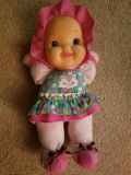 Cute babys first doll