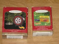 Hallmark HotWheels Ornament Sets