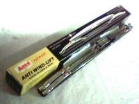 "Purchase NOS 15"" Windshield Wiper Blades Anco Red Dot Anti Wind Lift 815 Chrome motorcycle in Duluth, Minnesota, United States, for US $53.99"