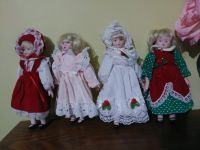 Small Porcelain Dolls