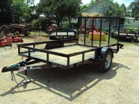 77x10 utility trailer with r gate NEW