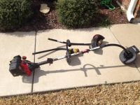 Lawn mower and weed eater (Harker Heights)