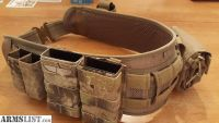 For Sale: 5.11 Battle Belt with Cobra buckle and pouches