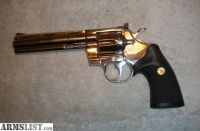 """For Sale: Colt Python Bright Stainless Steel .357 Mag. with a 6"""" barrel"""