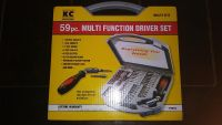 59 piece Multi Function Driver Tool Set