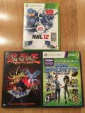 Xbox Games and 1 DVD Movie
