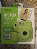 Instax mini 9 green camera