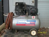 $150, 2HP Charge Air Pro 2 Cylinder Air Compressor