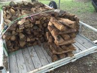 $20, Oak FIREWOOD split and seasoned by the stack 20-25 logs DELIVERY available Lakeway, Hudson Bend