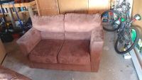 Love seat and sofa and free recliner