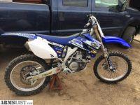 For Sale/Trade: 07 yz 450 dirt bike
