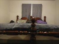 Solid Wood King Size Bed