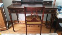 Old Vintage table and chair. 1914th...