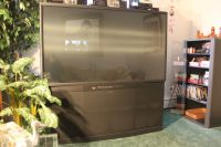 Mitsubishi 65 inch HDTV rear projection T.V.
