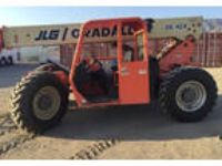 2005 JLG Gradall-G6-42A-Telescopic-Forklift Equipment in Santa Monica, CA
