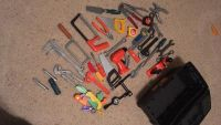 Toy tools in real tool box!