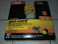 Carol gen-cord Generator Portable Power Cord ( BRAND NEW )