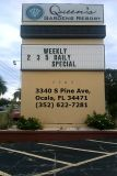 Going to Ocala? Need a hotel room at a nice price? Call Queens Gardens Resort