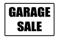 Multi-Family HUGE Garage Sale in Beaumont's West End