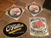 Craft beer tins! Great for the bar decor! $12 each or all $40