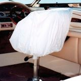 Buy Taylor Made Marine Boat Helm/Bucket Seat White Vinyl Storage Cover motorcycle in Millsboro, Delaware, United States, for US $21.41