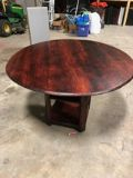 Handmade solid wood kitchen table